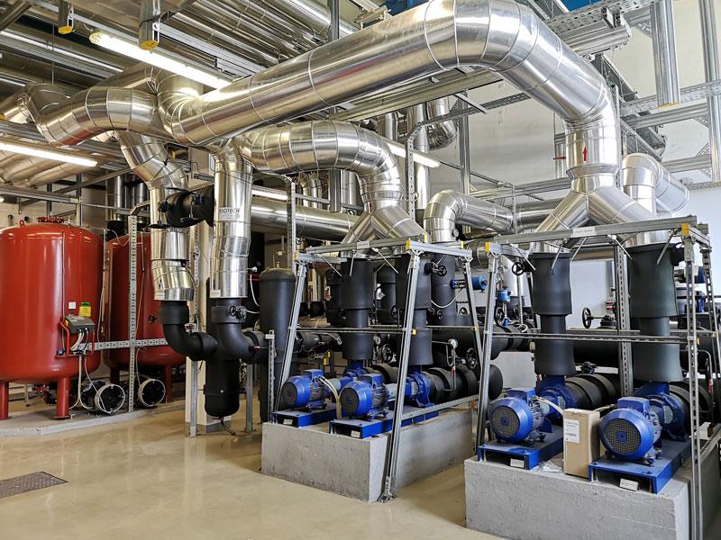 Obnova kompresorske postaje PE Kondenzatorji Semič